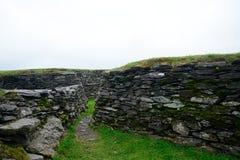 Ringfort, Leacanabuile, Ierland royalty-vrije stock afbeelding