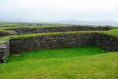 Ringfort, Leacanabuile, Irlanda fotos de archivo libres de regalías