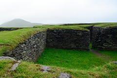 Ringfort, Leacanabuile, Irlanda fotografía de archivo
