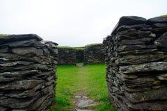 Ringfort, Leacanabuile, Irlanda imágenes de archivo libres de regalías
