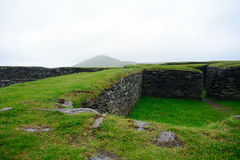 Ringfort, Leacanabuile, Irlande photo stock