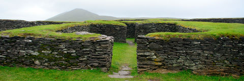 Ringfort, Leacanabuile, Irlandia obrazy royalty free