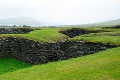 Ringfort, Leacanabuile, Irlandia zdjęcie stock