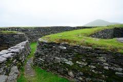 Ringfort, Leacanabuile, Irlandia zdjęcia stock