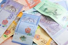 RINGGIT τραπεζογραμματίων της Μαλαισίας Στοκ εικόνα με δικαίωμα ελεύθερης χρήσης