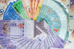 Ringgit the basic monetary unit of Malaysia Royalty Free Stock Images