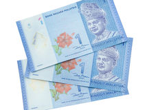 Ringgit currency, Malaysia Royalty Free Stock Photos