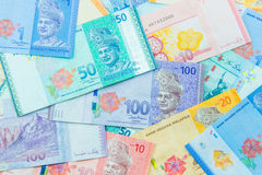 Ringgit currency, Malaysia Royalty Free Stock Images