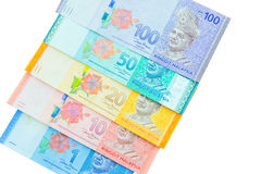 Ringgit currency, Malaysia Royalty Free Stock Photography