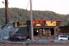 Ringgod Georgia Tornado-Schaden Stockfotografie