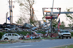 Ringgold Georgia Tornado Damage stock photo
