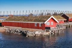 Ringholmen,挪威 农村挪威横向 库存图片