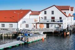 Ringholmen,挪威 农村的横向 库存图片