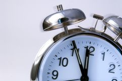 Ringing alarm clock Royalty Free Stock Photo