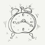 Ringing alarm clock Stock Photos