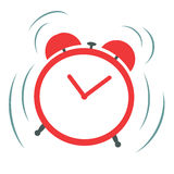 Ringing alarm clock Royalty Free Stock Photography