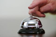 Ringing Bell Stock Images