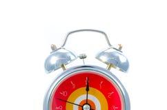 Ringing classical alarm clock isolated Stock Photo
