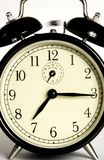 Ringing clock. Is warning for time Stock Photo