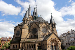 Ringkirche in Wiesbaden Stock Photos