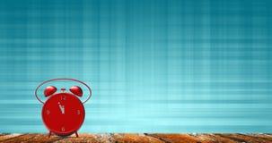 Ringklocka med små minuter till `-klockan för nolla tolv Arkivbilder