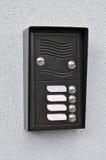 Ringklockadörren sätta en klocka på Royaltyfri Foto