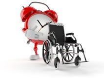 Ringklockatecken med rullstolen Arkivfoto