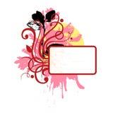 Ringlet flourish vignette Stock Image