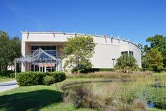 ringling的马戏博物馆在一个晴天 在萨拉索塔拍的照片佛罗里达 库存图片