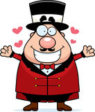 Ringmaster Hug Stock Photo