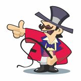 Ringmaster Pointing Left Stock Photos