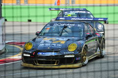 Ringo Chong racing at Porsche Carrera Cup Asia Royalty Free Stock Photography
