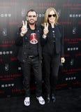 Ringo Starr and Barbara Bach Royalty Free Stock Photo