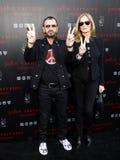 Ringo Starr and Barbara Bach Stock Image