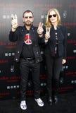 Ringo Starr and Barbara Bach Royalty Free Stock Photography