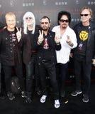 Ringo Starr, Edgar Winter, Steve Lukather, Gregg Bissonette and Richard Page Royalty Free Stock Photo