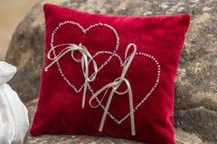 Ringowa poduszka Fotografia Royalty Free