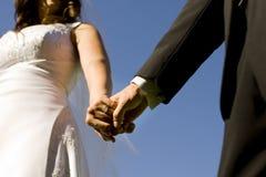 ringowy ślub obraz stock