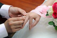ringowy ślub obrazy royalty free