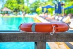 Ringowy boja pływacki basen Obrazy Royalty Free