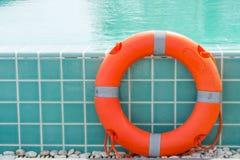 Ringowy boja pływacki basen Fotografia Stock