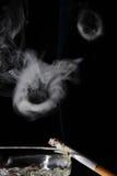 ringowy dym Fotografia Royalty Free