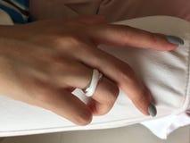 Ringowy palec Zdjęcie Royalty Free
