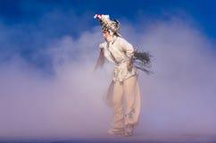 """Ringrazi il quinto atto del humbly-The rubano il  bianco di Opera""""Madame Snake†dell'immortale-Kunqu Immagine Stock Libera da Diritti"""