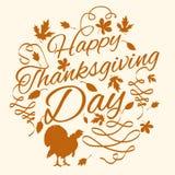 Ringraziamenti felici che danno day2 Fotografie Stock