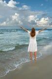 Ringraziamento e gioia Immagini Stock Libere da Diritti