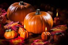 Ringraziamento e Halloween Fotografia Stock