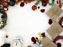 Ringraziamento e Natale con il nuovo anno 2019 immagine stock