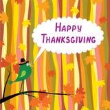 Ringraziamento felice! illustrazione vettoriale