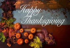 Ringraziamento felice Fotografie Stock